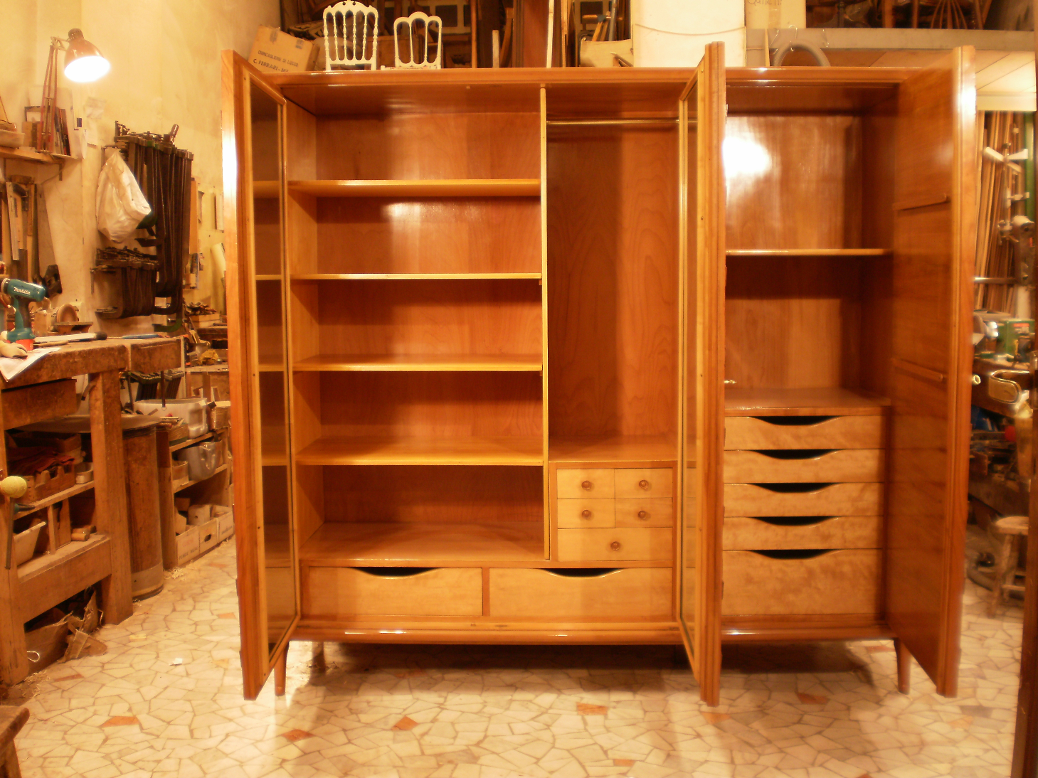 restauro mobili inizio 900 milano restauro modernariato
